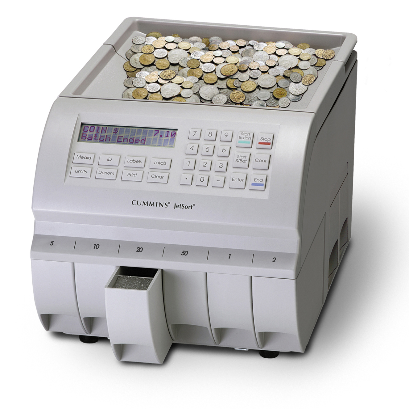 commercial coin sorter machine
