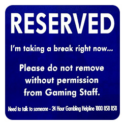 reserved-machine-sign