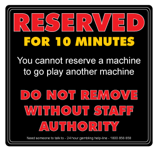 Cashtronics-Reserved-sign